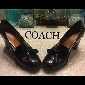Coach  Greta heels